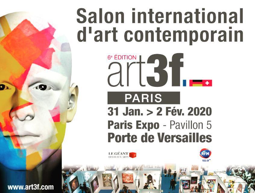 Affiche Art3F Paris